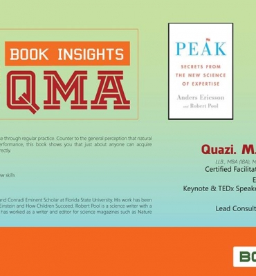 """BOLD was strategic partners of """"PEAK: Secrets from the New Science of Expertise"""""""