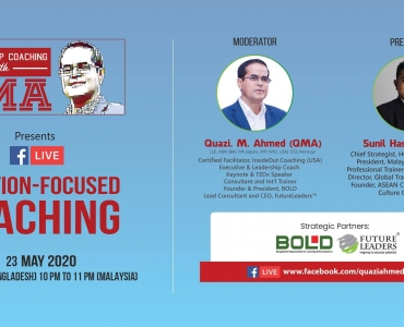 "BOLD was strategic partners of ""Solution-Focused Coaching"""
